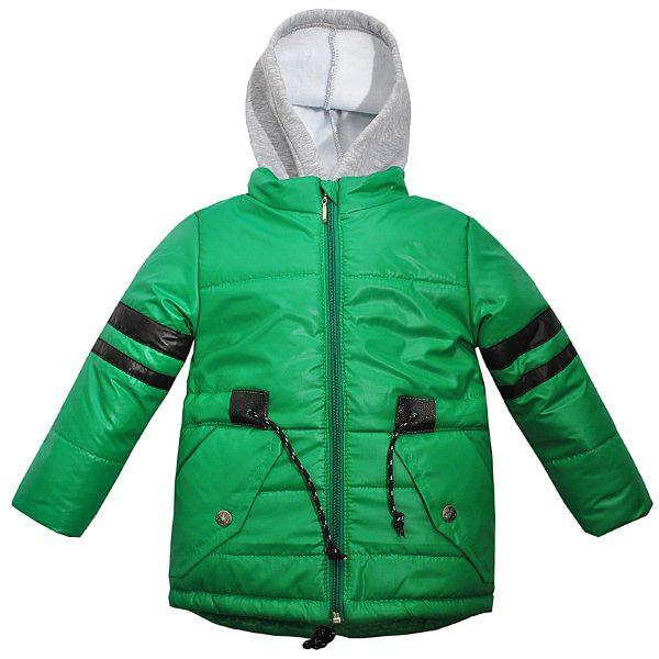 Куртка 22066 зелена