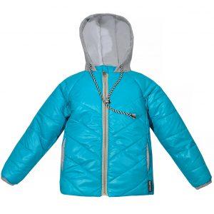 Куртка Одягайко 22068 голубая
