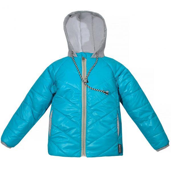 Куртка 22068 блакитна