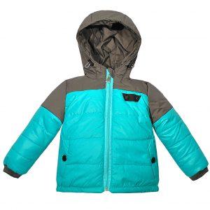 Куртка 22143 бірюзова