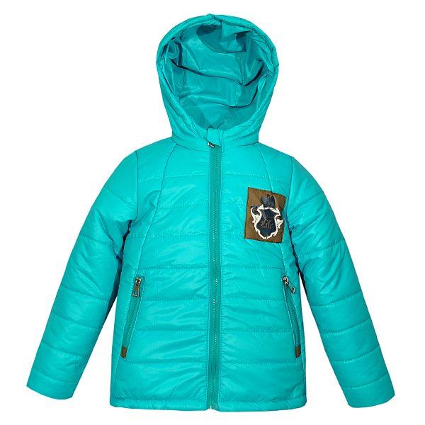 Куртка Одягайко 22272 блакитна