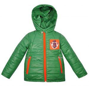 Куртка Одягайко 22272 зелена