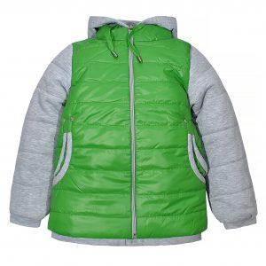 Куртка Одягайко 2440 зеленая