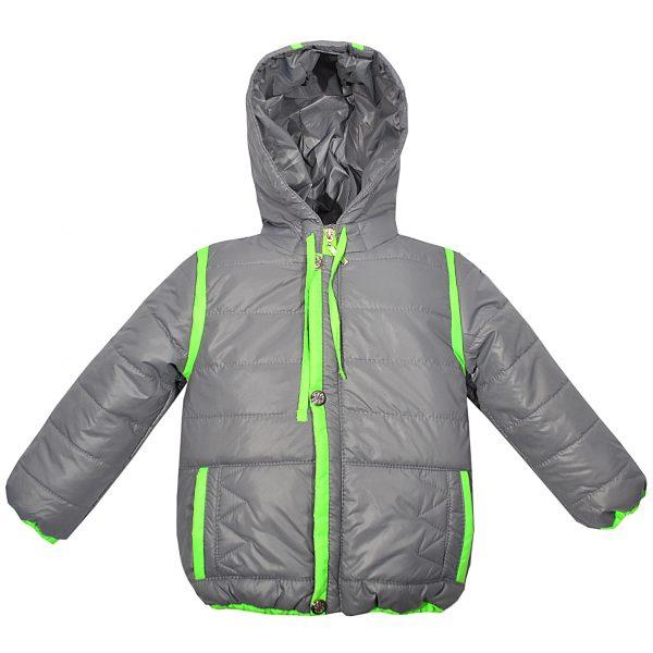 Куртка 2589 серая