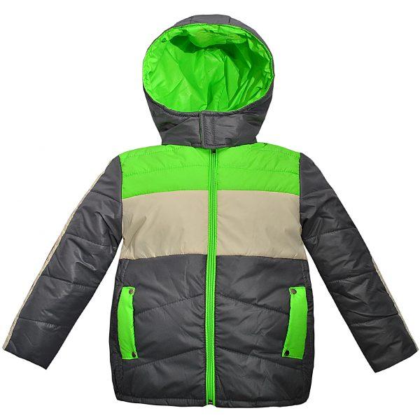 Куртка Одягайко 2683 сіра