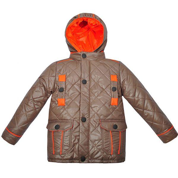 Куртка 2734 коричнева