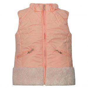 Жилет Одягайко 7186 світло-рожевий