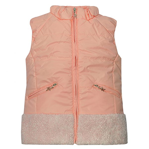 Жилет Одягайко 7186 светло-розовый