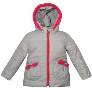 Куртка 22102 сіра