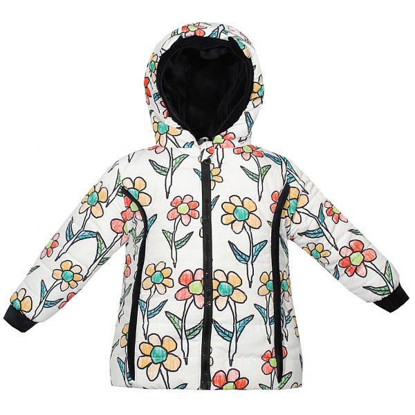 Куртка Одягайко 22108 белая