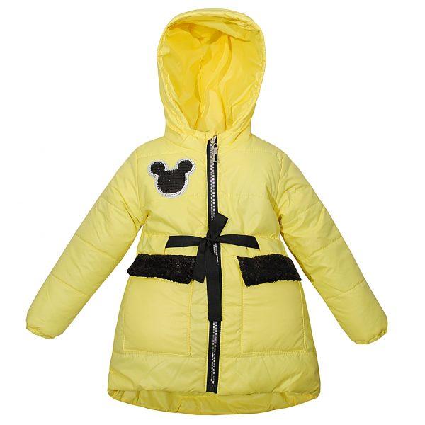 Куртка 22312 жовта