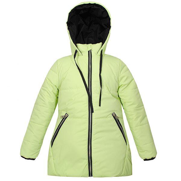 Куртка Одягайко 22346 салатовая
