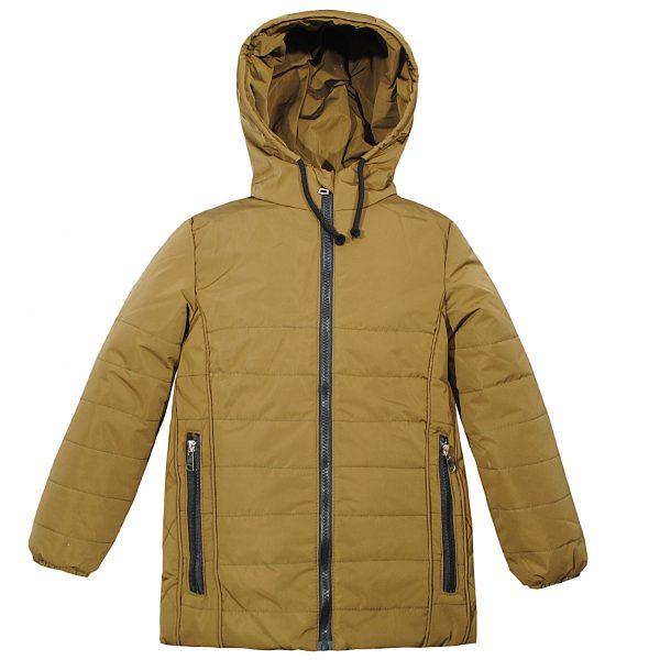 Куртка Одягайко 22385 гірчична