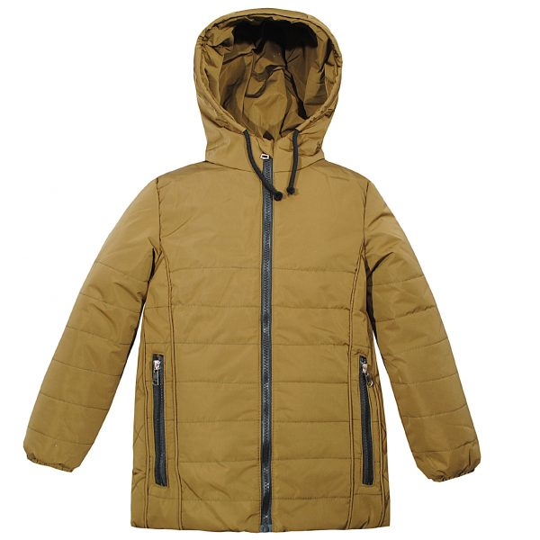 Куртка Одягайко 22385 горчичная