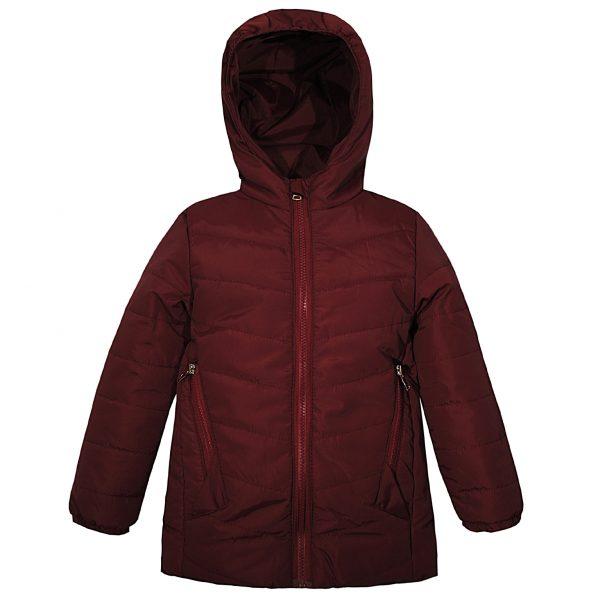 Куртка 22507 бордовая