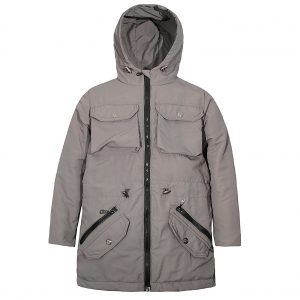 Куртка 24026 сіра