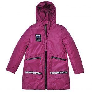 Куртка Одягайко 25030 рожева