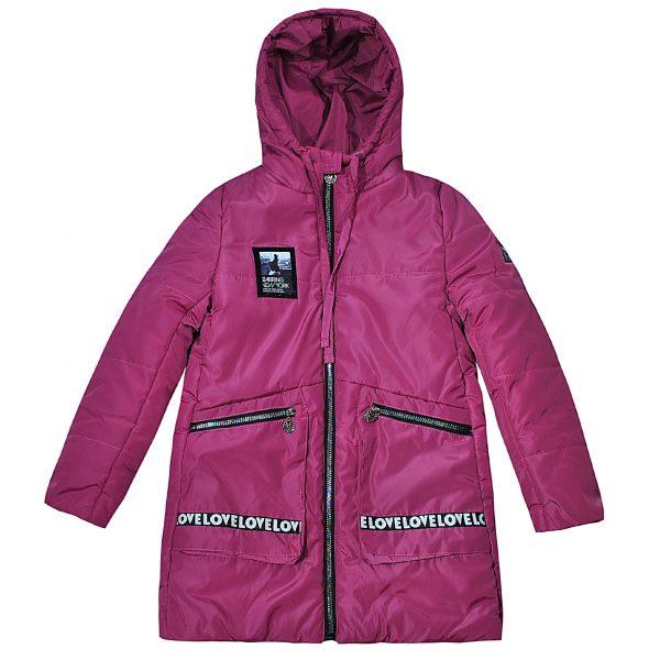 Куртка Одягайко 25030 розовая