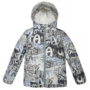 Куртка 22121 сіра