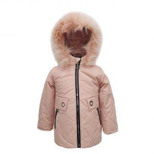 Куртка зимняя для девочки  20352 розовая