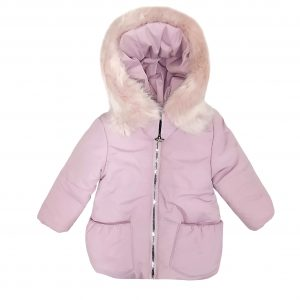 Куртка зимняя для девочки  20339 розовая