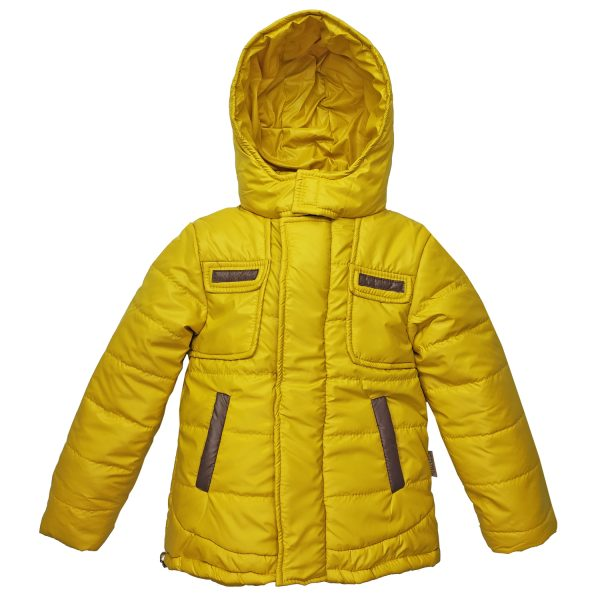 Куртка 22048 жовта