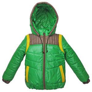 Куртка 22052 зеленая