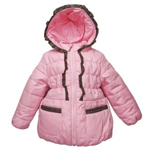 Куртка 2581 рожева