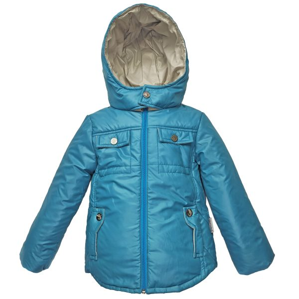 Куртка 2582 голубая