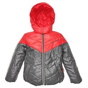 Куртка 2611 червоно-коричнева