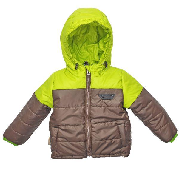 Куртка 22143 жовто-коричнева