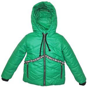 Куртка 22309 зеленая