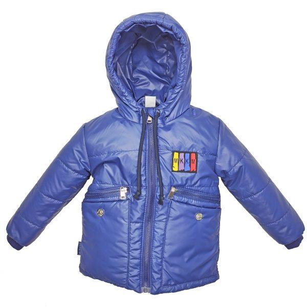 Куртка 22386 синяя