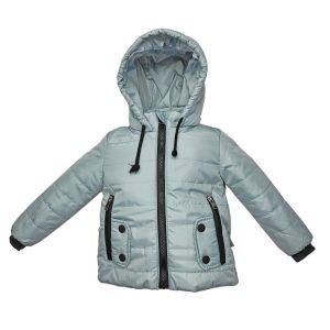Куртка 22458 светло-серая