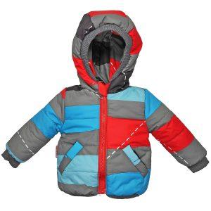 Куртка 22529 цветной принт