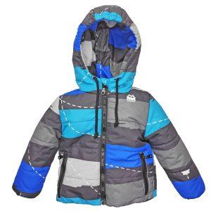 Куртка 22664 цветной принт