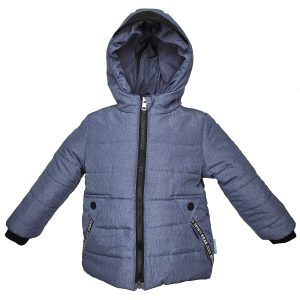 Куртка 22677 синяя