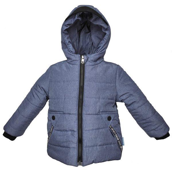 Куртка 22677 синя