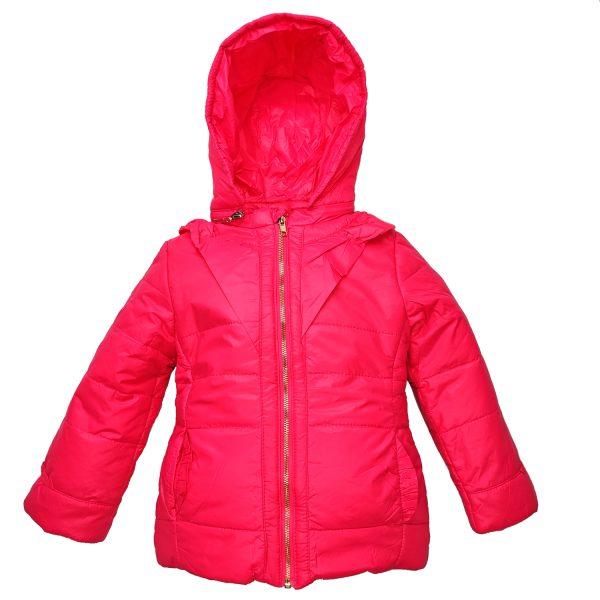 Куртка 2595 рожева