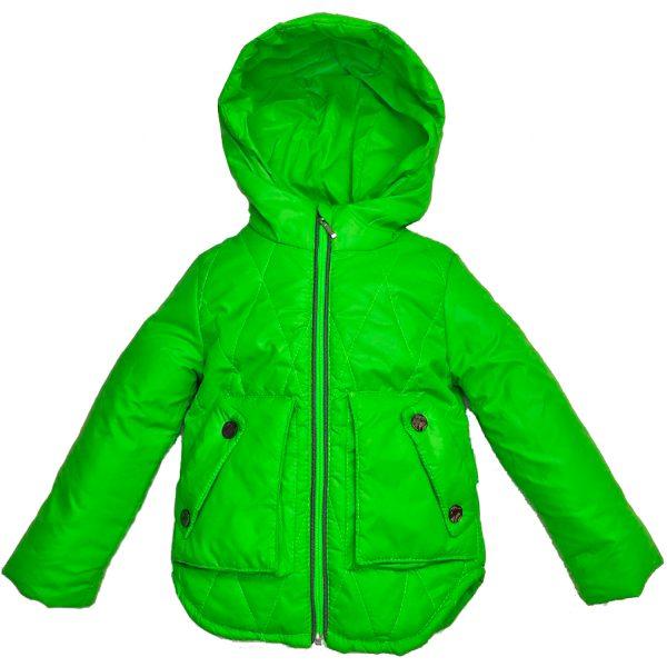 Куртка 2597 светло зеленая