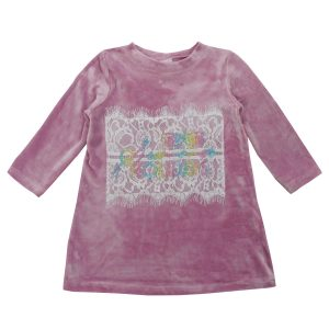 Платье 555111 розовое
