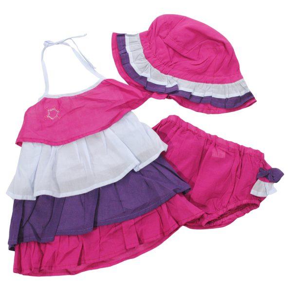 Сарафан 4007-825 фиолетовый