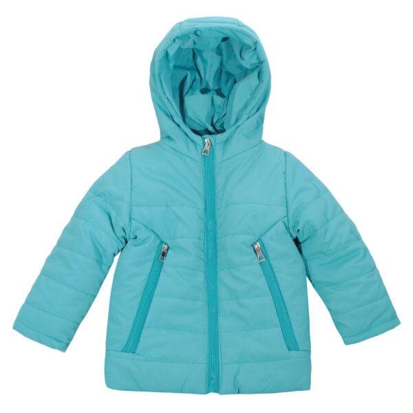 Куртка 20429 блакитна