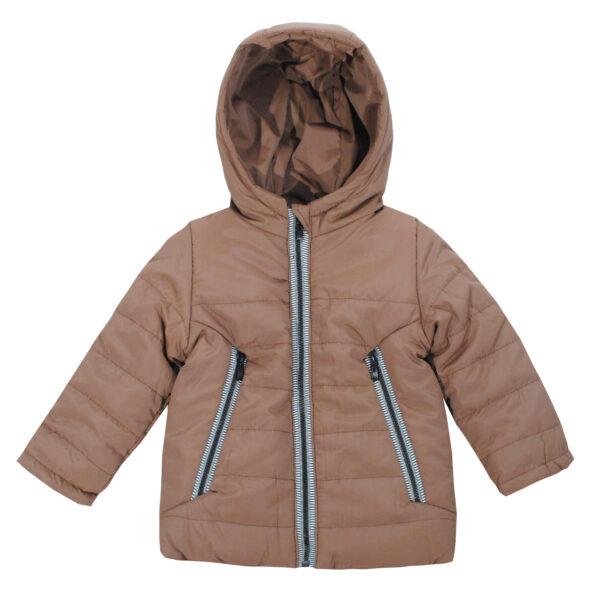 Куртка 20429 коричнева