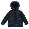 Куртка 22641 синяя