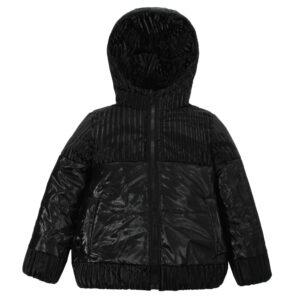 Куртка 22747 чорна
