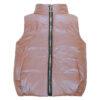 Жилет 72100 розовый металлик