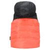 Жилет 72101 чорно-помаранчевий 16124