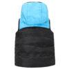Жилет 72101 черно-голубой 16140