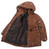 Куртка 20443 коричнева 16868